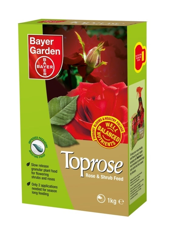 Bayer Garden Toprose - Rose & Shrub Feed 1kg
