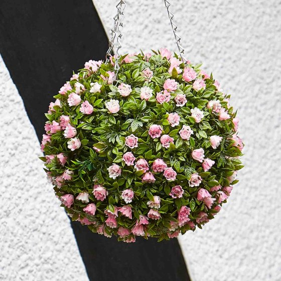 Topiary Pink Rose Ball