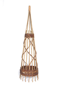 Willow Obelisk Spiral - 120cm