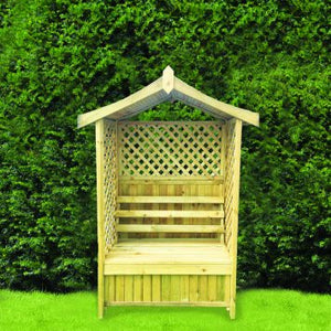 Woodshaw Tansley Seated Arbour