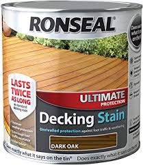 Ronseal Decking Stain Dark Oak 2.5l