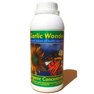 Garlic Wonder Rabitof Organic Feed 500ml