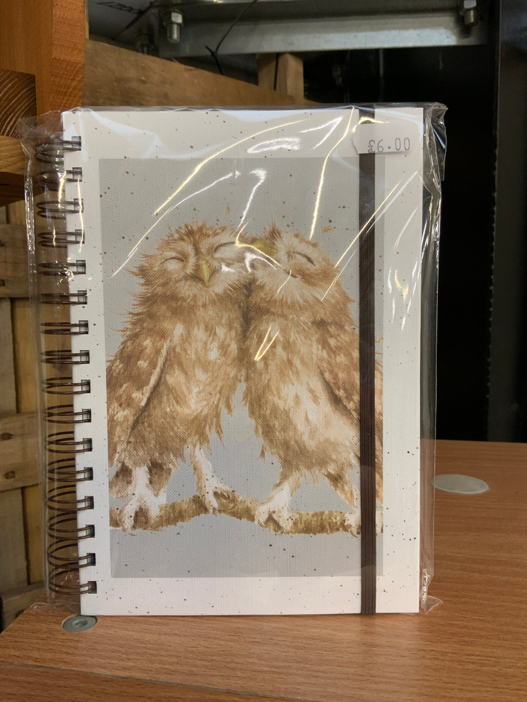 Wrendale owl note book