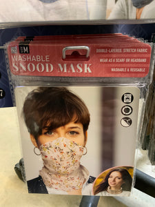 Washable snood mask size M