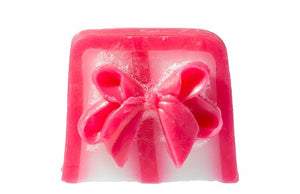 Take a bow soap slice