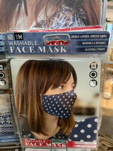 Washable face masks size M