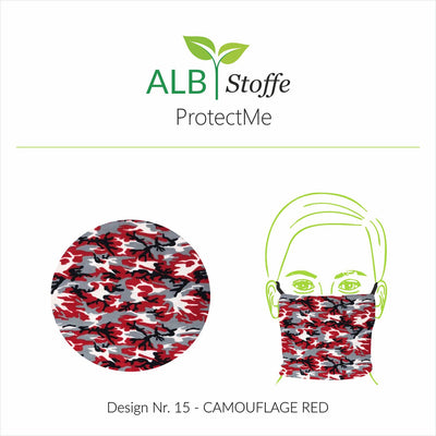 ProtectMe - 15 CAMOUFLAGE RED
