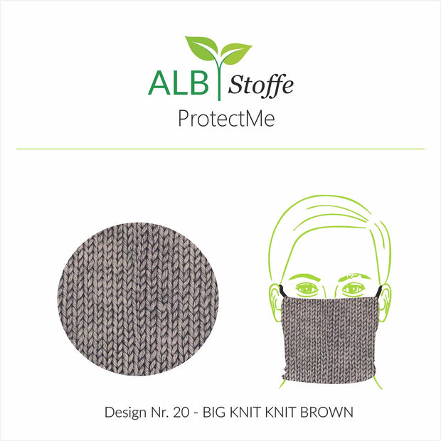 ProtectMe - 20 KNIT PRINT BROWN