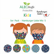 BRANDNEU! ProtectMe Kids *5er Pack* Hamburger Liebe Mix 5
