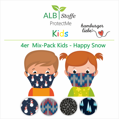 NEU! ProtectMe Kids *4er Pack* HAPPY SNOW