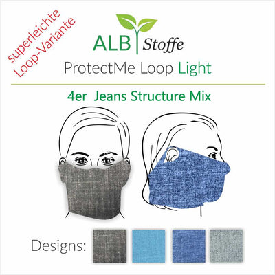 ProtectMe - Loop Light -  Jeans Structure Mix