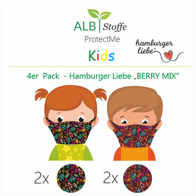 NEU! ProtectMe Kids *4er Pack* BERRY MIX