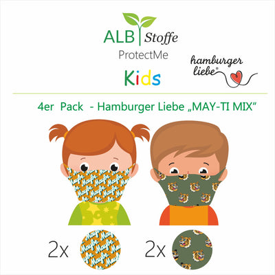 NEU! ProtectMe Kids *4er Pack* MAY-TIGER MIX