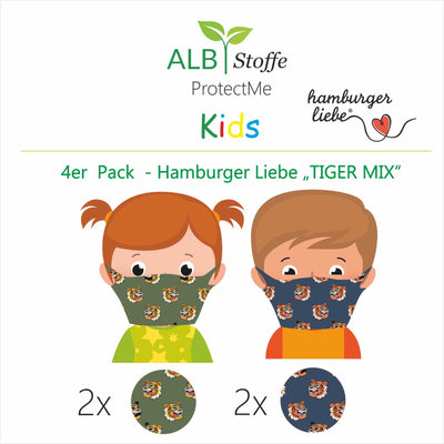 NEU! ProtectMe Kids *4er Pack* TIGER MIX