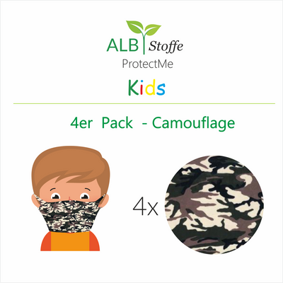 ProtectMe Kids *4er Pack* Camouflage