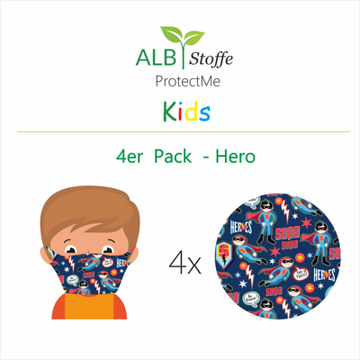 ProtectMe Kids *4er Pack* Hero