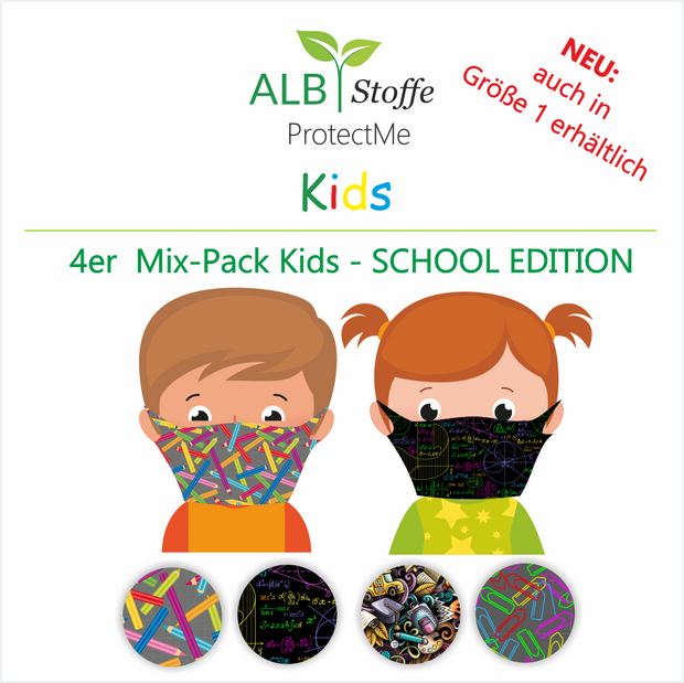 NEU!!! ProtectMe Kids *4er Pack* SCHOOL EDITION
