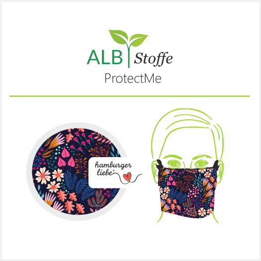 ProtectMe -Hamburger Liebe - Flower Field