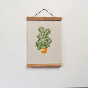 Calathea A4 Screen print