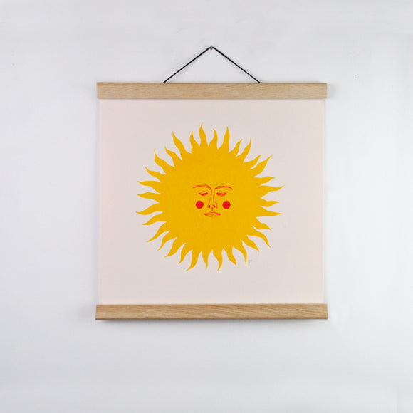 Folk Sun Screenprint