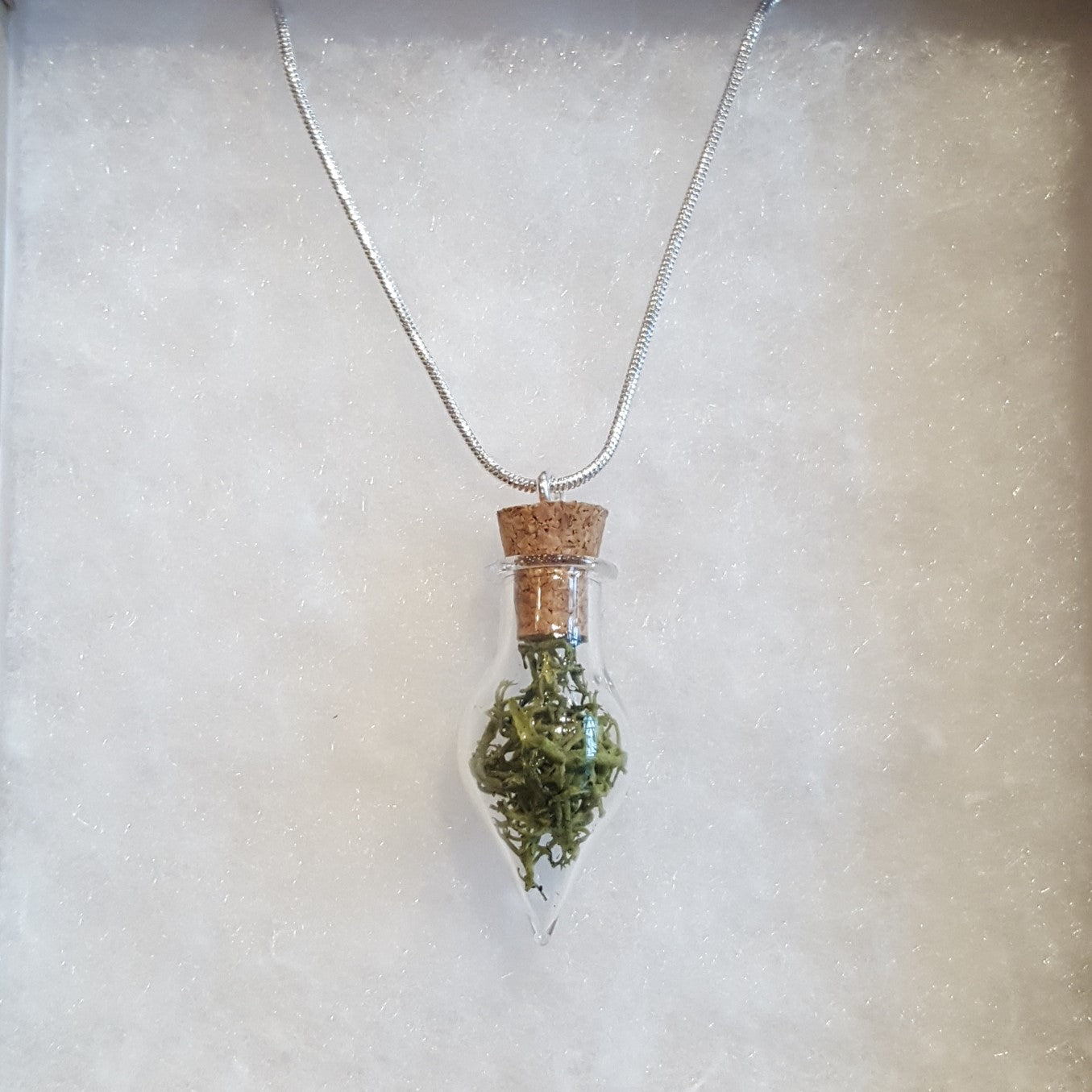 Moss Terrarium Necklace Sheffield Makers Hunters Bar