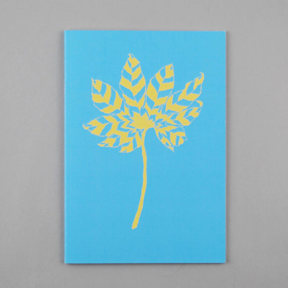 Aralia Leaf A5 Notebook