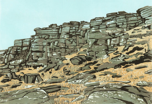 Tower Face, Stanage - Art Print