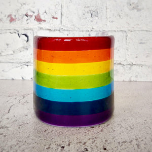 Rainbow Glass Standing Decoration