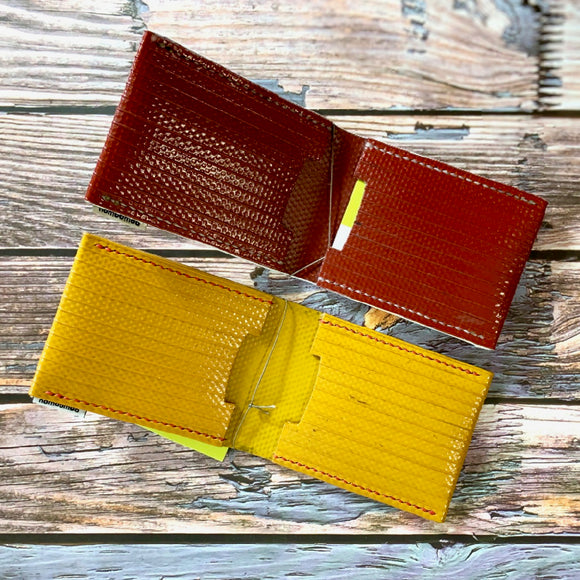 Recycled Fire Hose Card Holders