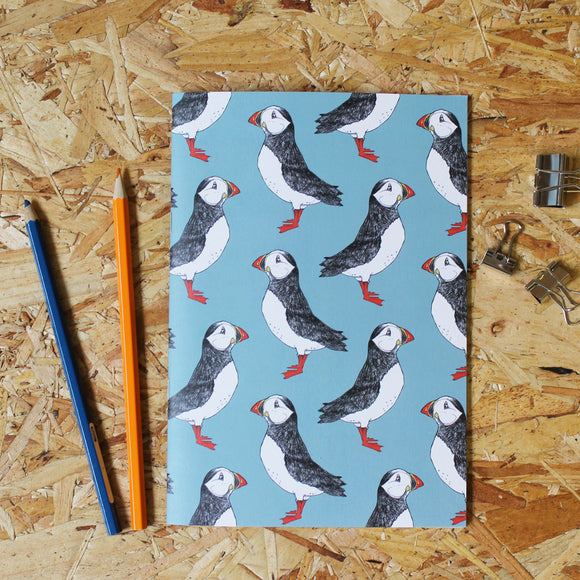 Puffin A5 Notebook