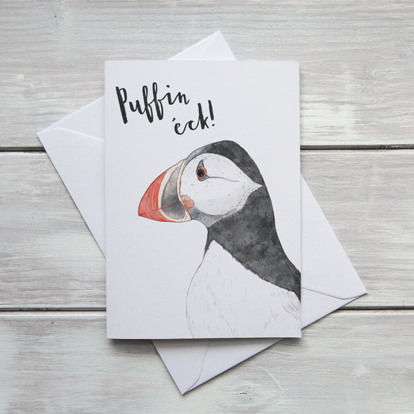 Puffin Eck Card