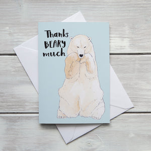 Thanks BEARY Much Card