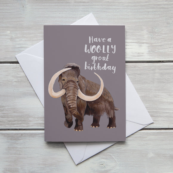 Have a Woolly Great Birthday Card
