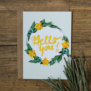 Hello you! Card