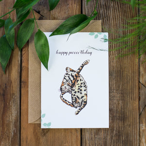 Happy Purrth-day Card