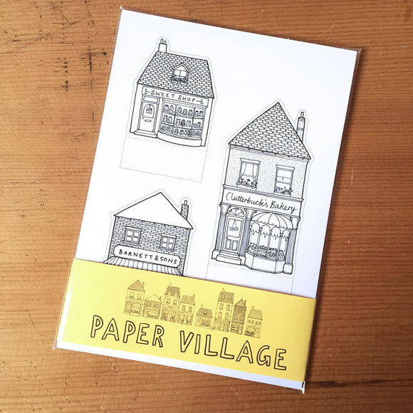 Paper Village Activity Pack