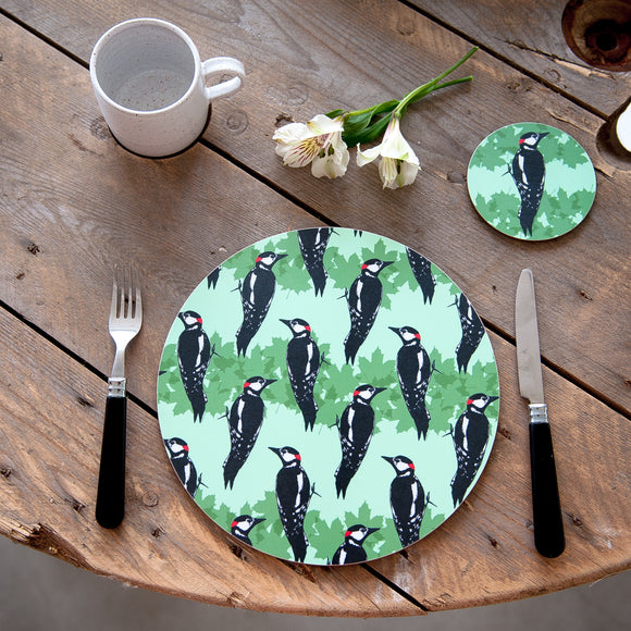 Woodpecker Placemat