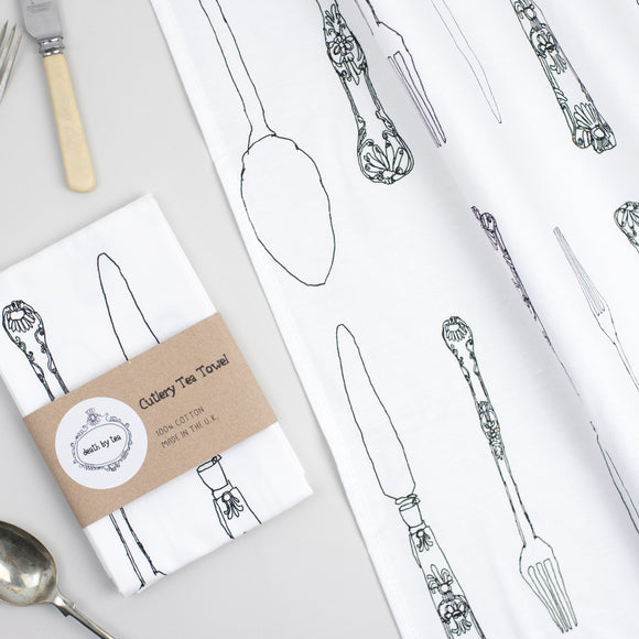 Cutlery Tea Towel