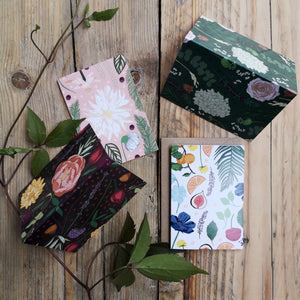 Mini Botanical Notecard Set of 6