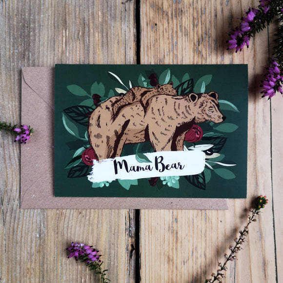 Mama Bear | Mother's Day Card