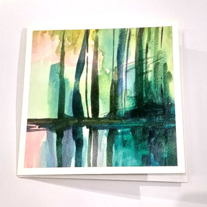 Landscape Card 01 - Green Trees