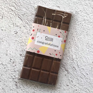 Congratulations Milk Chocolate Bar