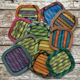 Recycled Climbing Rope Coaster