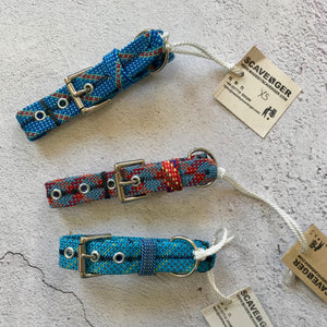 Recycled Climbing Rope Dog Collar