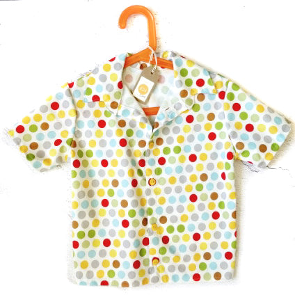 Age 5 Shirt - Bright Dots