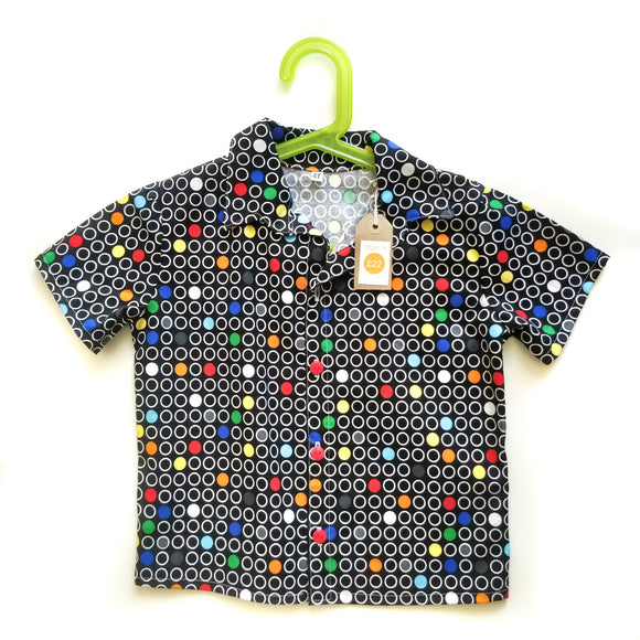 Age 4 Shirt - Retro Dots
