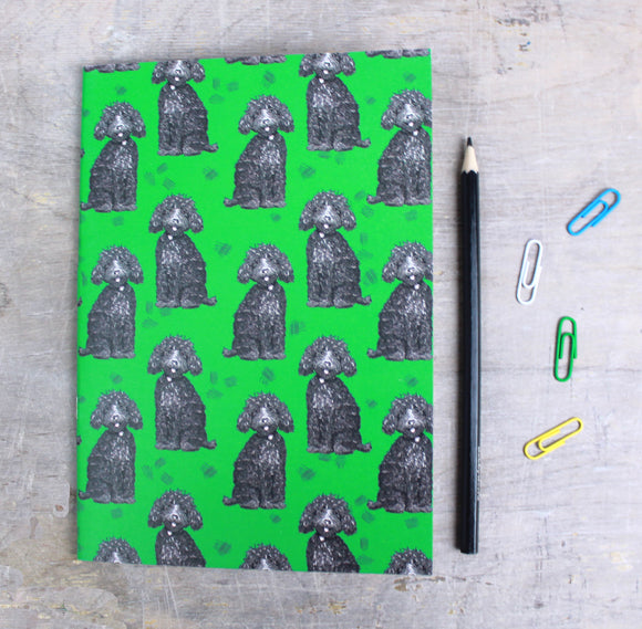 Labradoodle Dog A5 Notebook