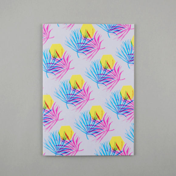 Palm Leaf A5 Notebook
