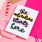 'The Adventure Starts Here' Card