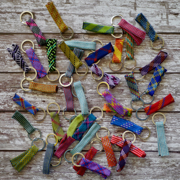Recycled Climbing Rope Keyring